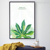 Nordic Style Green Tropical Leaf