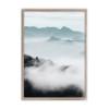 Sky Clouds View Print