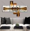 Brown Box 5 Panel Group Canvas Art