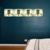 Green Base Owl Art