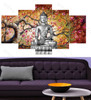 Buddha Floral Print