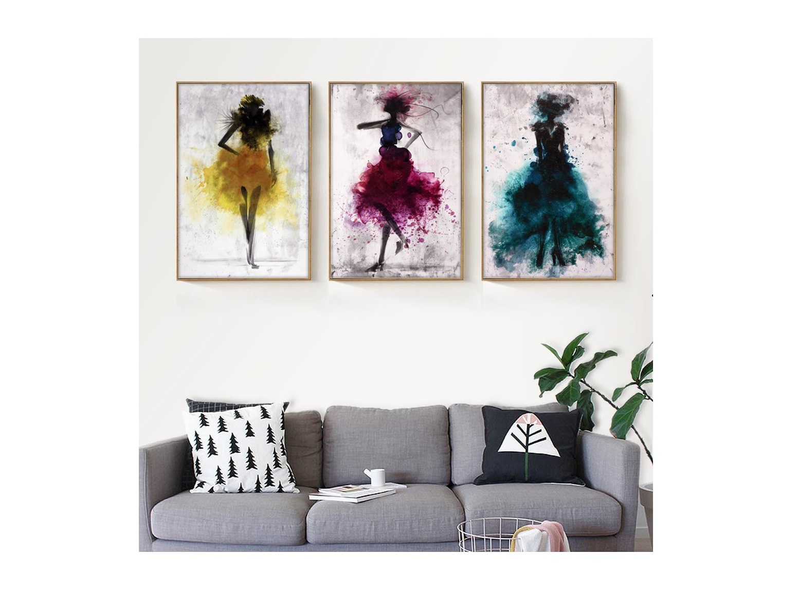 Four Pair of Girls Art
