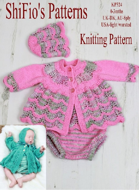Knitting Pattern #324