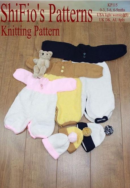 Knitting Pattern #115