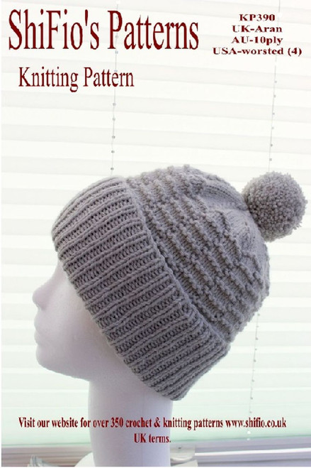 Knitting Pattern #390