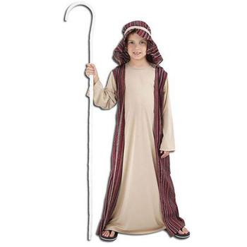 Childrens Shepherd Kids School Christmas Nativity Costume Fancy Dress
