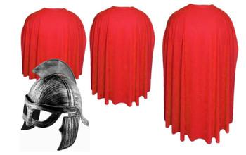 Red Spartan Cape & helmet 300 Halloween Fancy Dress