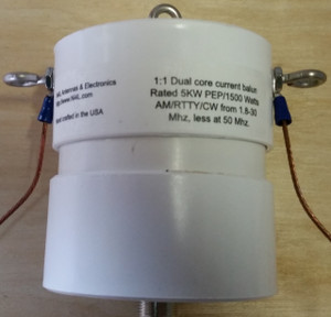 1:1 current balun 5KW Ni4L