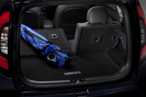 Kia Soul Cargo Mat with Seat Back Protector