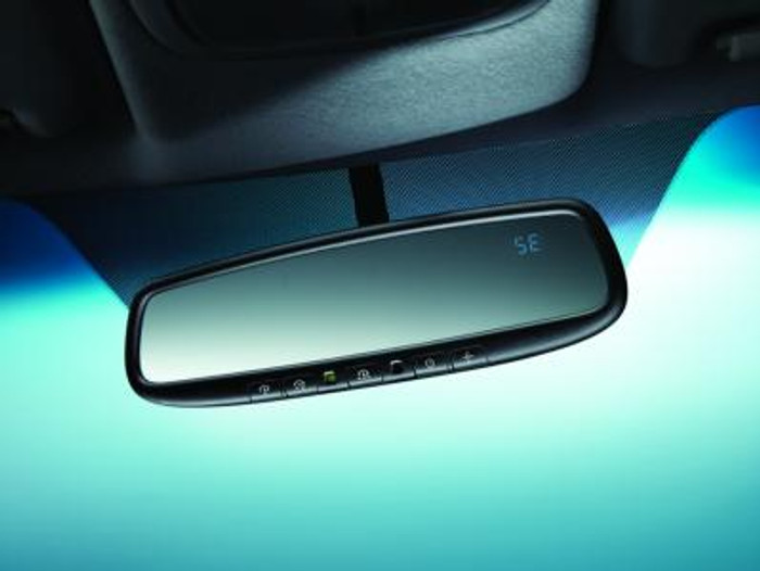 Kia Forte Auto Dimming Mirror