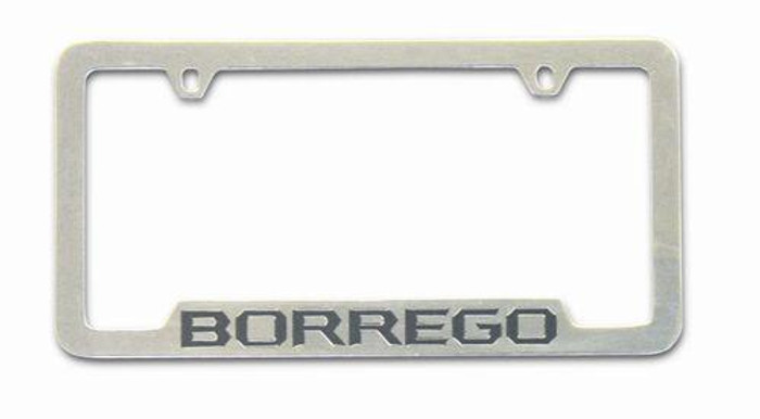 Kia Borrego License Plate Frame