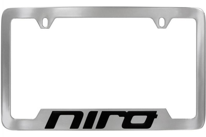 Kia Niro License Plate Frame - Lower Logo