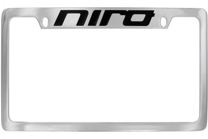 Kia Niro License Plate Frame - Upper Logo