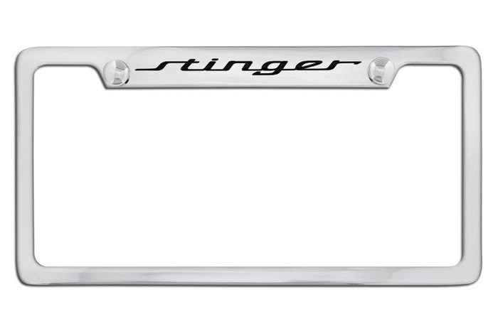Kia Stinger License Plate Frame