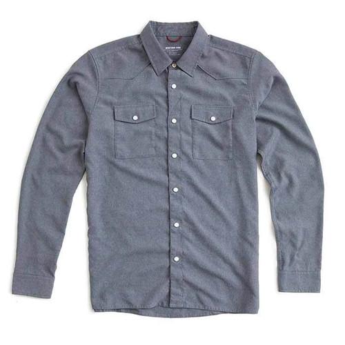 Western Shirt — Smoke