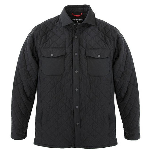 Quilted Jacket — Black