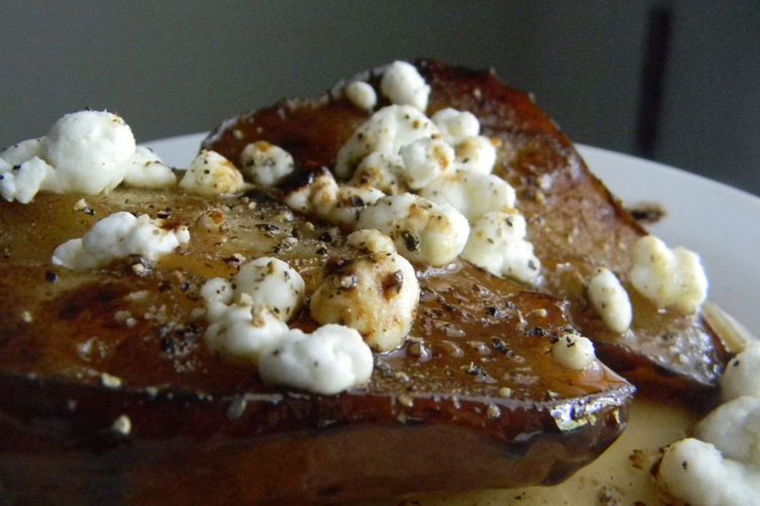 ​Balsamic Roasted Pears with Honey