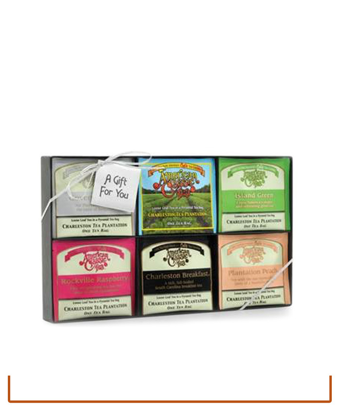 Charleston Tea Plantation Sampler