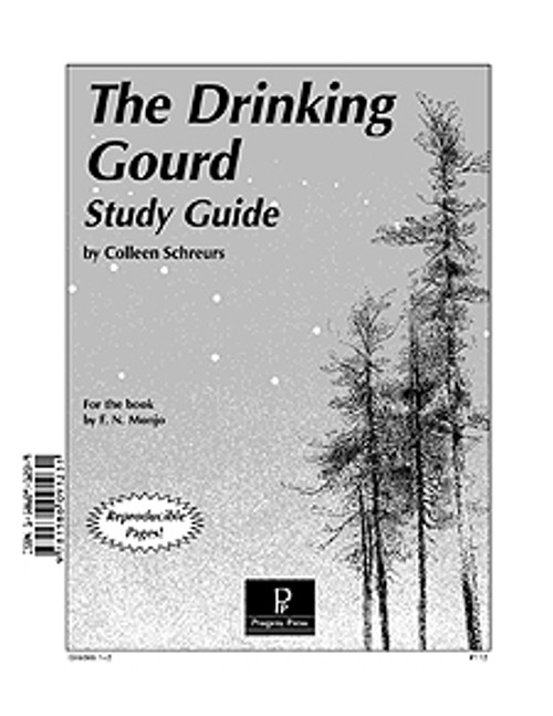 The Drinking Gourd Progeny Press unit study guide lesson plans for literature and reading from a Christian worldview with Biblical integration