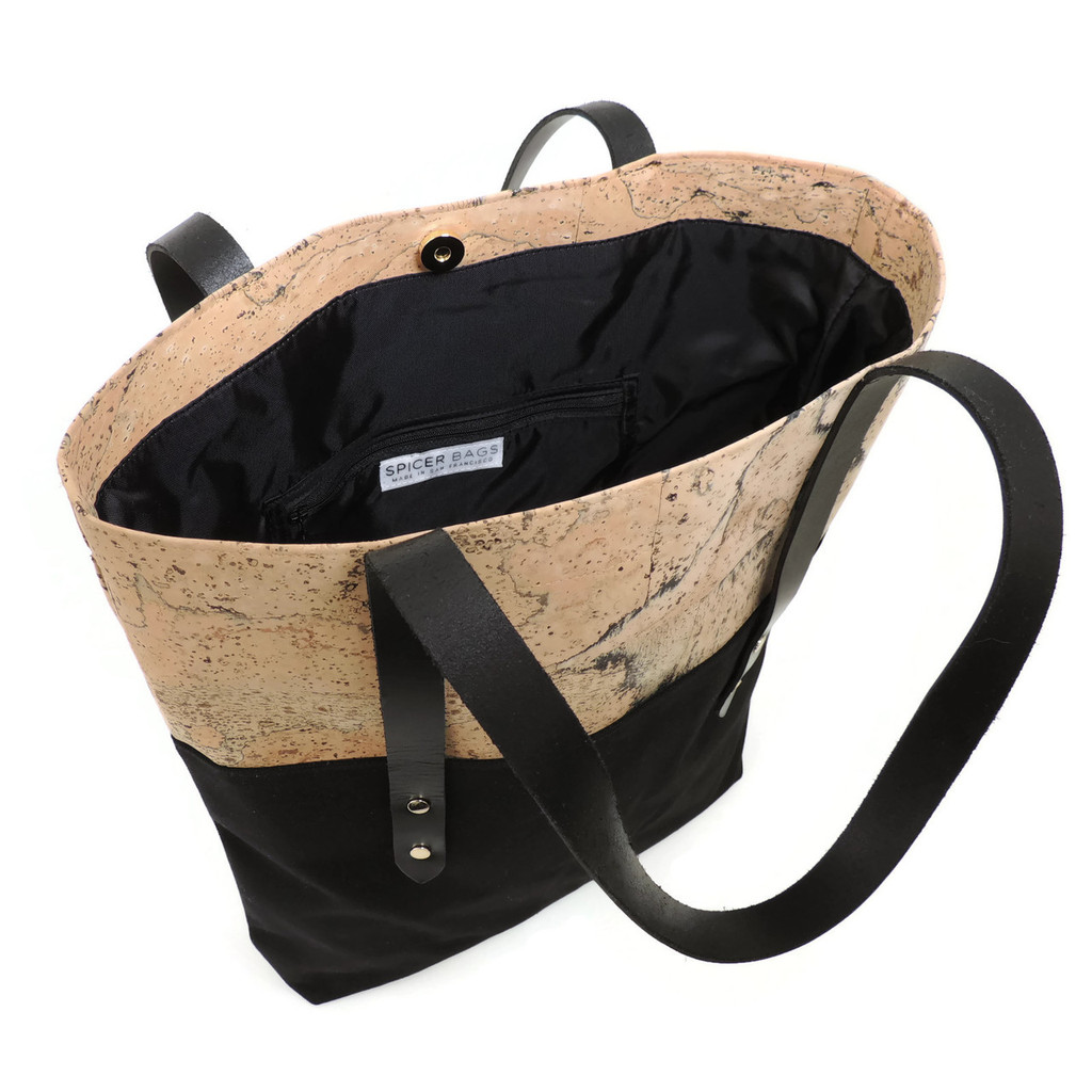 Big Boot Tote in Geo Cork