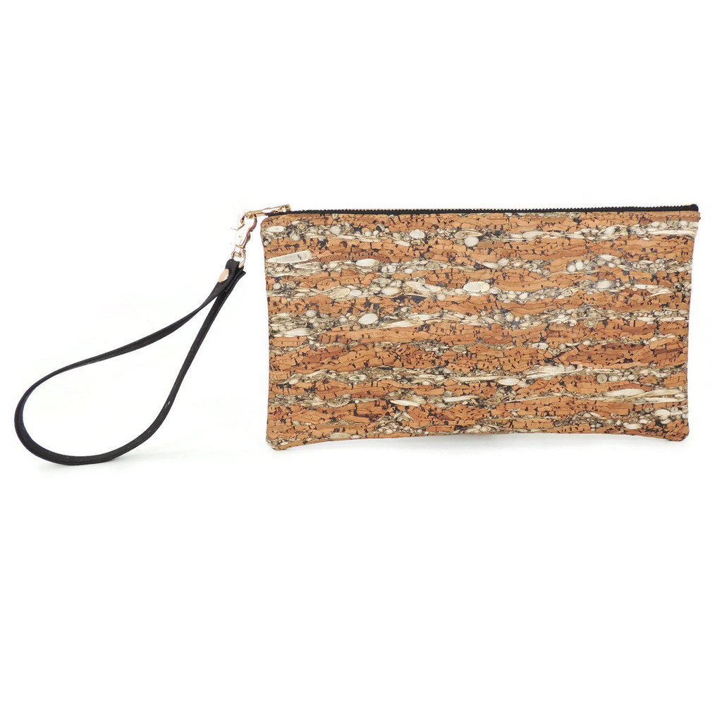 Wristlet in Fennel Cork