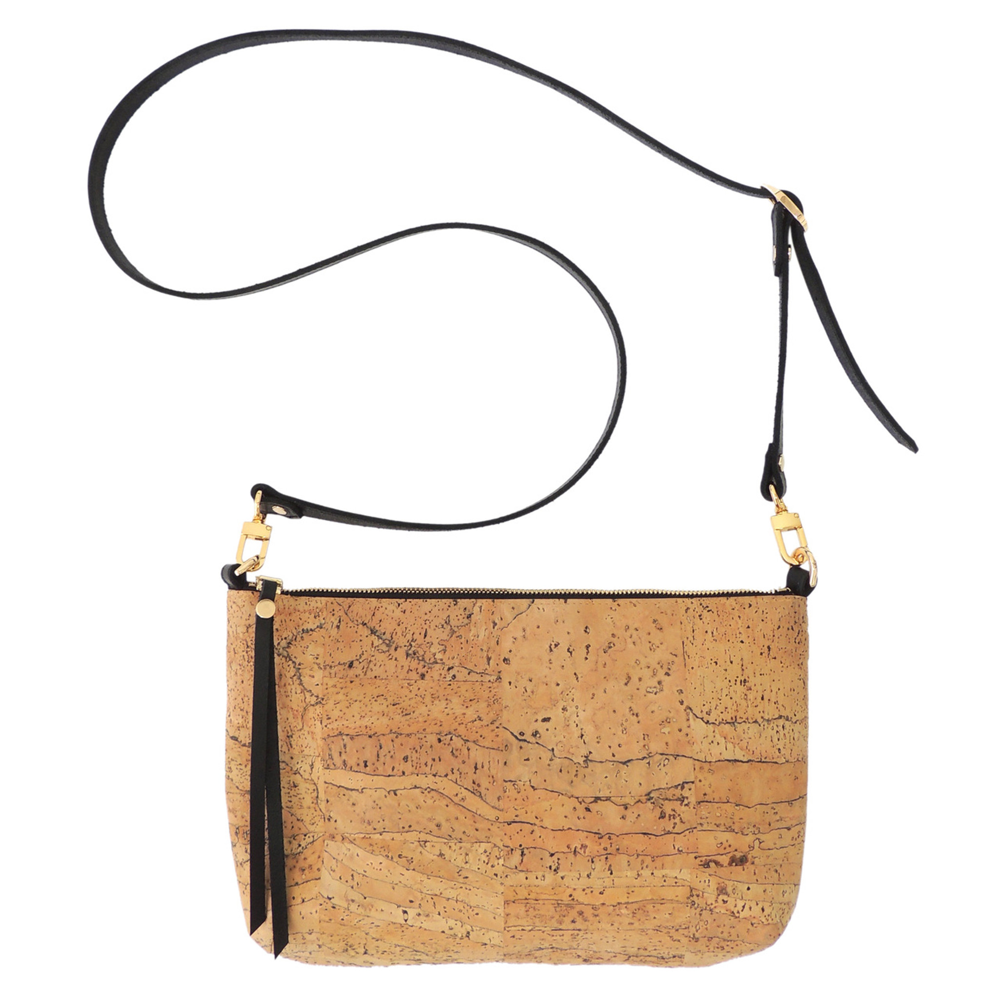 Crossbody Purse in Marble Cork
