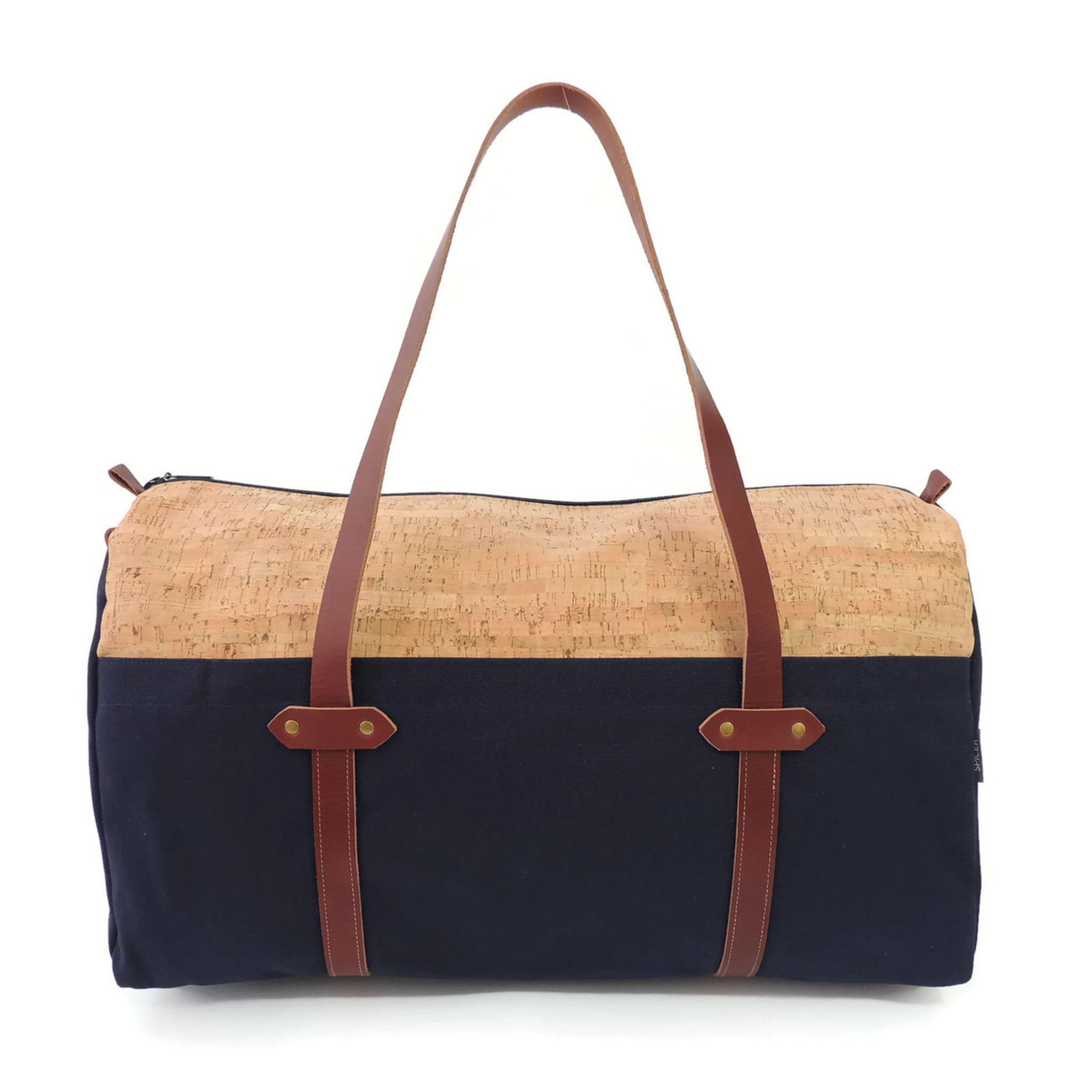 Duffle in Cork Dash and Navy