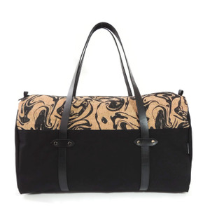 Duffle in Black Ink Cork