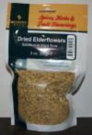 BB Dried Elderflowers 2 Oz.