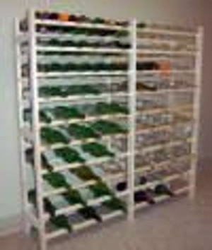 120 Bottle (12 X 10) Wine Rack