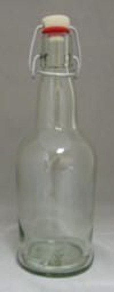 Clear 16 Oz. E.Z. Cap Bottles
