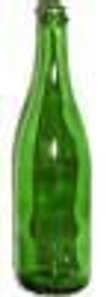 Vineyard Green Champagne Bottle