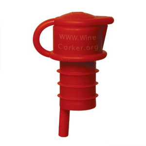 Haley's Corker 5 in 1 Aerator, Filter, Pourer, Re-Corker, Stopper.