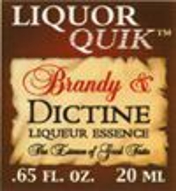 Brandy & Dictine Liqueur LQ Ess