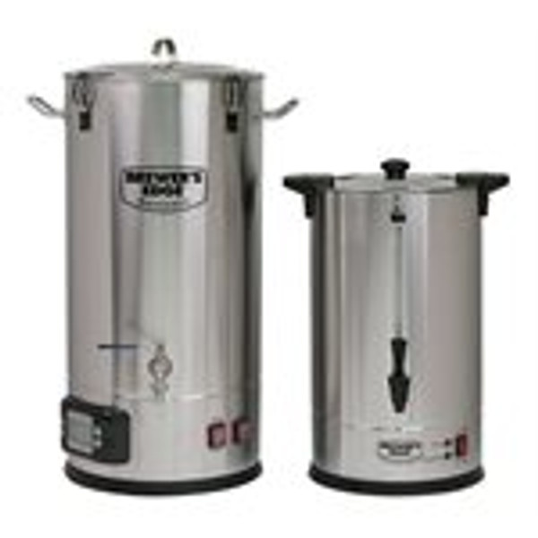 From the same team that brought you the Mash and Boil comes the perfect companion: The Brewer's Edge Sparge Water Heater