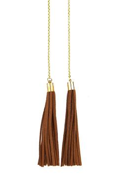 TREZO LAVI Leather Necklace