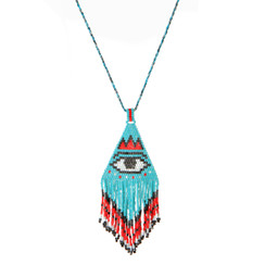 TREZO LAVI Evil Eye Necklace