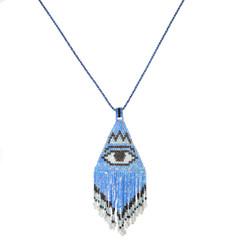 TREZO LAVI Evil Eye Necklace