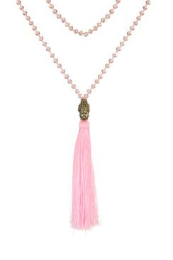 TREZO LAVI Gold Buddha Necklace