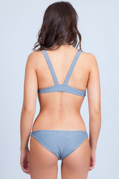 HOUSE OF AU+ORA Rich Girl Bottom in T-Shirt Gray