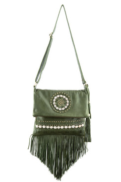 TREZO LAVI Tahiti Bag in Olive