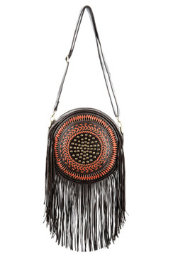 TREZO LAVI Dreamcatcher Bag in Dark Coco