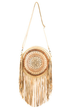 TREZO LAVI Dreamcatcher Bag in Natural