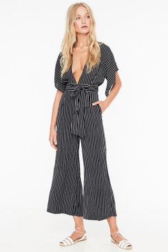FAITHFULL THE BRAND Cedric Jumpsuit in San Cristobal Stripe