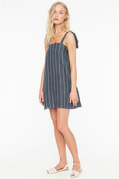 FAITHFULL THE BRAND San Blas Dress in Copenhagen Stripe