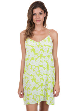 ACACIA Flores Dress in Neon Magnolia