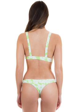 ACACIA Ho'okipa Bottom in Neon Magnolia