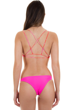 MIKOH Alapio Top in Island Red Ginger