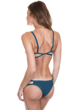 POSH PUA Pili Crochet Bottom in Pine