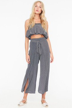 FAITHFULL THE BRAND Sand Island Pants in Marbella Stripe